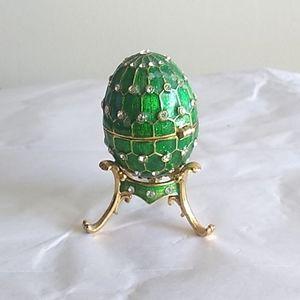 Faberge style egg.